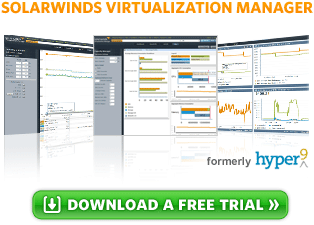 Hyper9 Virtualization Manager is Now SolarWinds Virtualization Manager